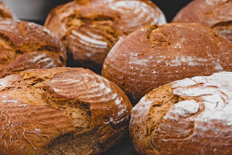 כיכרות לחם חום